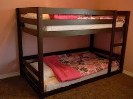 Low To The Ground Bunk Beds by Ana White Modified Classic Bunk Beds Diy Projects