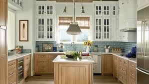 White Paint And Glass Doors On The Upper Cabinets Brighten Kitchen In Our 2011 Showhouse