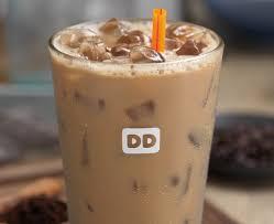 Iced Coffee Dunkin Donuts