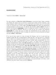 Carta Para Cancelar Tarjeta De Credito Bancomer