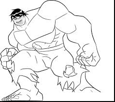 Good Incredible Hulk Avengers Coloring Pages Face To Print Free Smash Hulkbuster Medium Size