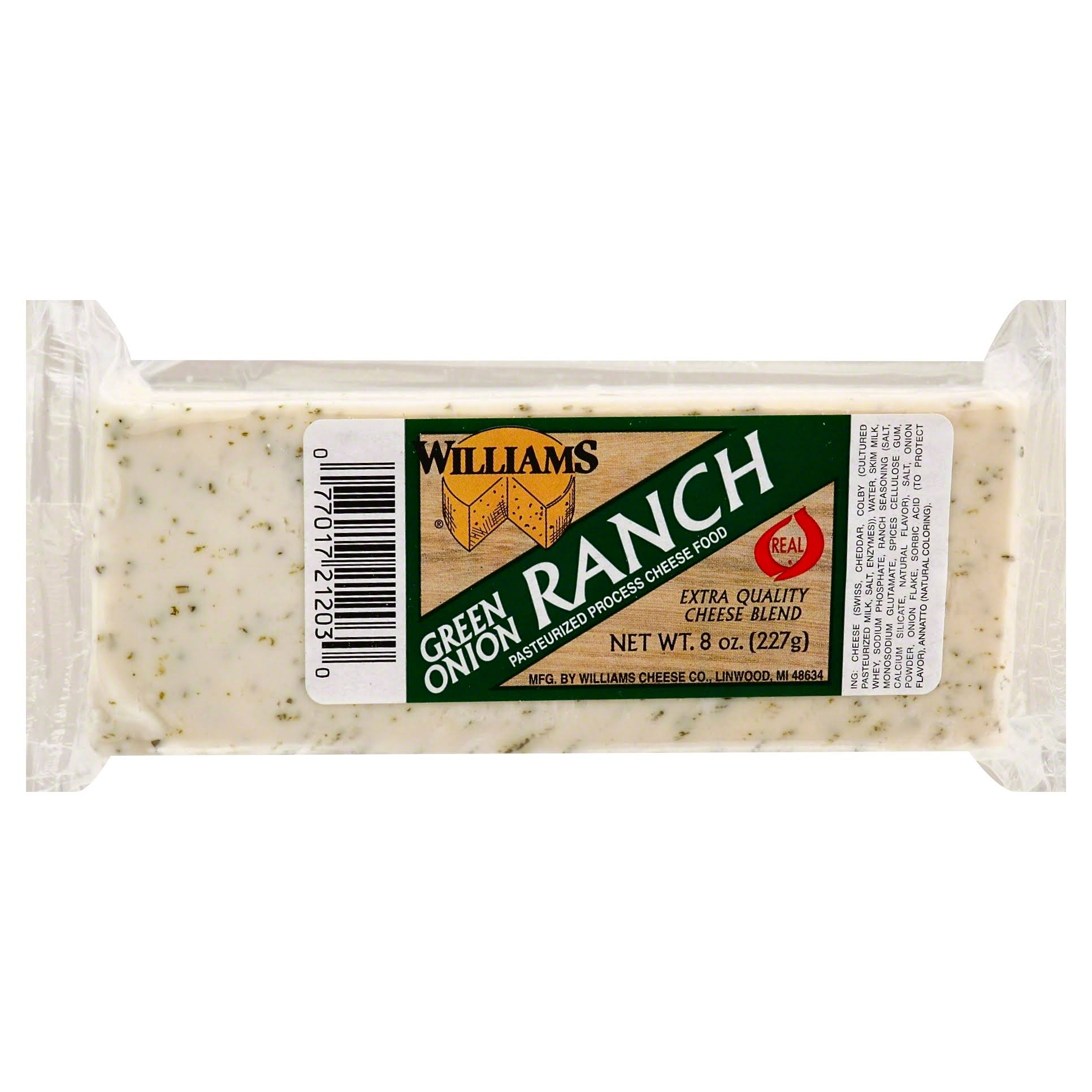 Williams Cheese Block - Green Onion Ranch, 8oz