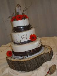 Image Of Rustic Wedding Cake Toppers