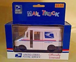 Post Office Truck Us Postal Service Mail 1:35 New 2006 Fly Wheel ...