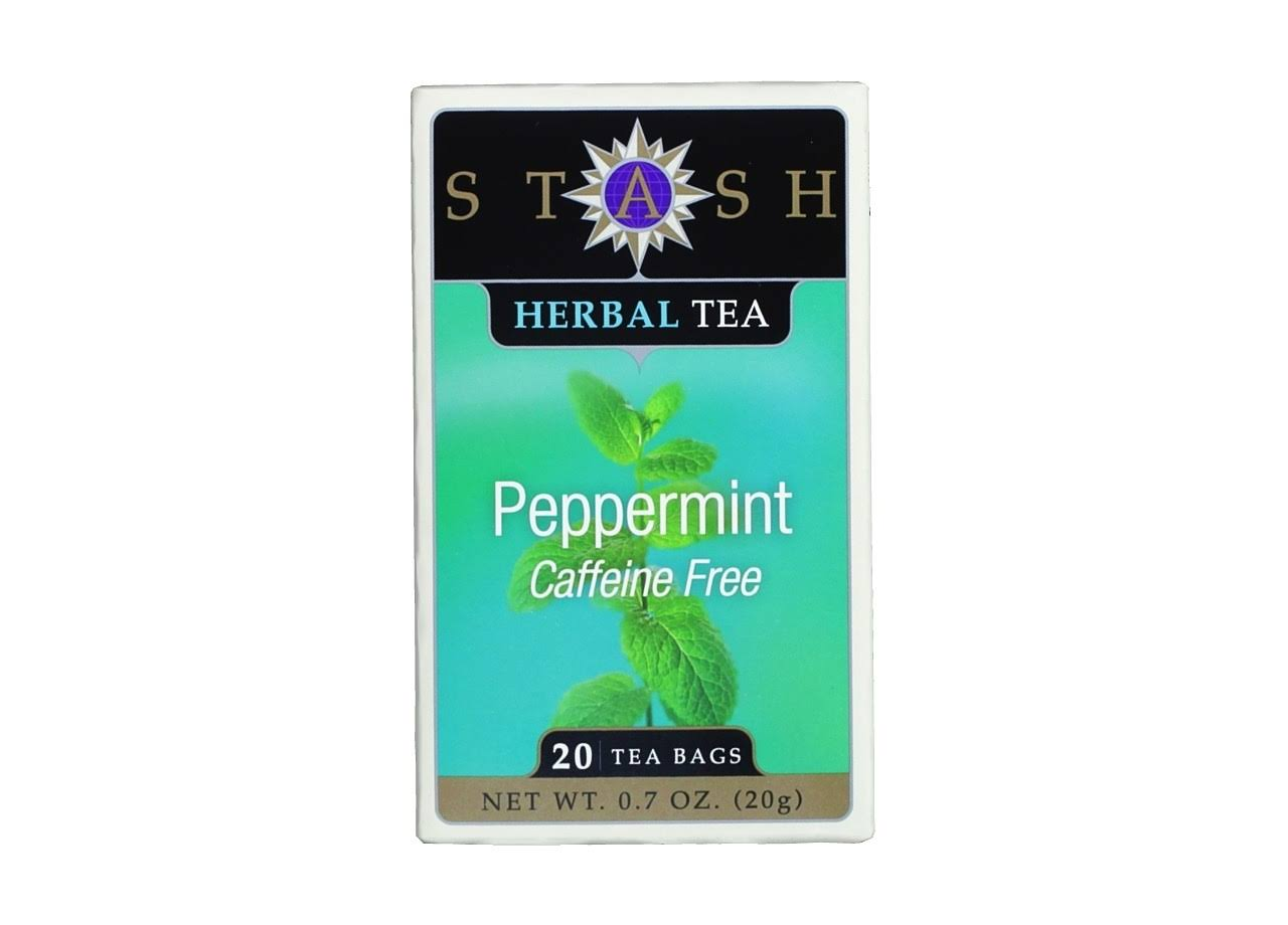 Stash Peppermint Herbal Tea Bags - 20ct, 20g
