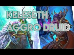 r druid deck kft keleseth aggro druid hearthstone deck