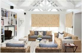 All White Living Room Furniture Get Beach Cottage Style Bright And Airy