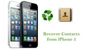 Get back lost contact on iPhone 5 after change apple ID