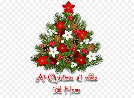 Christmas Tree Decoration Poinsettia