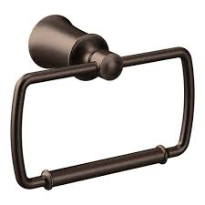 Moen Kingsley Faucet Oil Rubbed Bronze by Moen Kingsley Towel Ring In Oil Rubbed Bronze Yb5486orb The Home