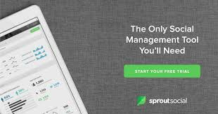 si e social en anglais social media management software sprout social
