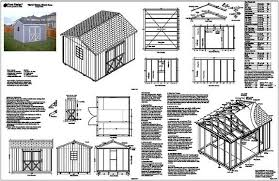10x10 Shed Plans Blueprints by Storage Shed Plans 10x12 100 Images My Best Shed Plans The