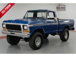 100 Ford Truck 1979 F150 For Sale ClassicCarscom CC1153586