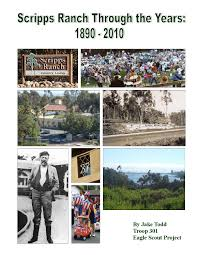 Boy Scout Christmas Tree Recycling San Diego by Scripps Ranch History Book By Scripps Ranch Civic Association Issuu
