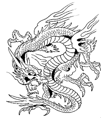 Free Dragon Adult Coloring Pages Printable