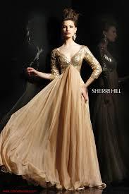 sherri hill 2963 3 4 sleeve evening dress one fine day
