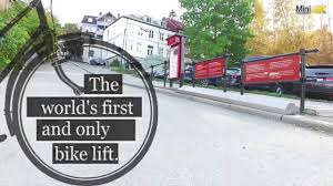 Racor Ceiling Mount Bike Lift Instructions by The First And Only Trampe Bicycle Lift In The World 4k Youtube