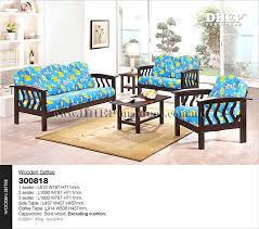 Wooden Sofas With Cushions Sofa Set Cushion Settee