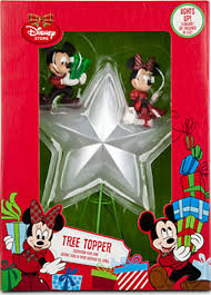 Disney Tinkerbell Star Christmas Tree Topper by Amazon Com Disney Store Mickey U0026 Minnie Mouse Lighted Christmas