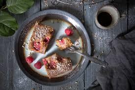 haselnusskuchen mit himbeeren foodlovin