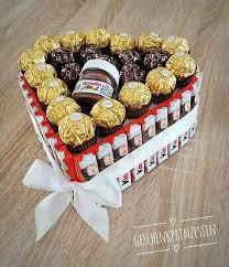 kinderriegel rocher nutella riegel torte geschenk geburtstag