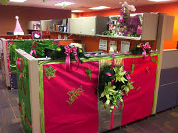 Outrageous Cubicle Birthday Decorations by Office Holiday Decorations Christmas Lights Decoration