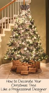 Would You Like To Have An Elegant Designer Christmas Tree This Year But Dont Know How Get A Professional Look There Are Many Tips And Tricks Interior