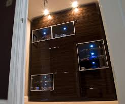 Other Design Great Brown Display Cabinets With Glass Cover And
