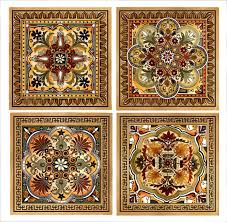 italian renaissance design custom backsplash ceramic tile set