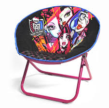 Monster High Twin Bed Set by Amazon Com Monster High Tween Saucer Chair Toys U0026 Games
