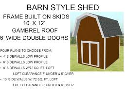 Gambrel Shed Plans 16x20 by Free Barn Plans U2013 Barn Blueprints And Plans