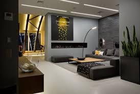 anthrazit farbe modern dachgeschosswohnung wohnzimmer