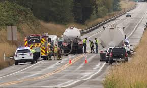 100 Little Sisters Truck Wash Driver Killed In US 2 Headon Crash Involving Septic Truck