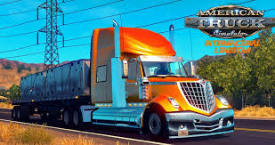 100 Lonestar Truck International ATS Mod American Simulator Mod