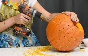 Pumpkin Carving Drill by Last Minute Creative Pumpkin Decorating Ideas San Diego