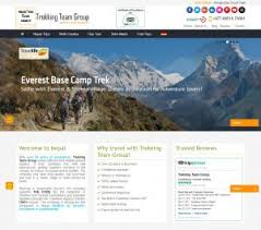What Trekking Travel Websites Design Do