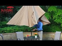 Solar Lighted Rectangular Patio Umbrella by Rectangular Solar Powered 22 Led Lighted Outdoor Patio Umbrella