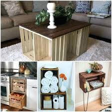 Wood Crates Ideas Crate Project Wooden Decorating