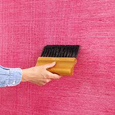 BHG Create A Chambray Look Wall By Rolling Tinted Glaze Over Painting TechniquesPainting