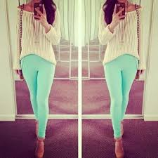 Mint Pants Summer Look Spring Outfits Teen Fashion Cute Dress Clothes Casual Outift For Teens Movies Girls Women Fall Winter Outfit Ideas