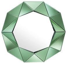 casa padrino luxus wandspiegel grün 105 x 10 x h 100 cm garderoben spiegel wohnzimmer spiegel luxus qualität barockgroßhandel de