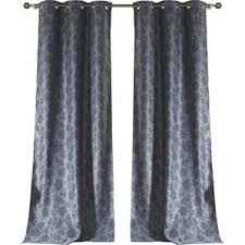 Gray Ruffle Blackout Curtains by Victoria Classics Curtains Wayfair