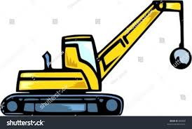Demolition Truck Vector Illustration Stock Vector HD (Royalty Free ...