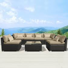 Restrapping Patio Furniture San Diego by Amazon Com Modenzi 7g U Outdoor Sectional Patio Furniture
