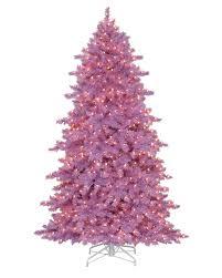 Slim Flocked Xmas Tree by Lively Lavender Artificial Christmas Tree Treetopia