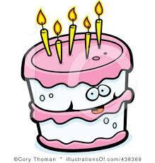 Free Birthday Cake Clip Art Clipart Panda Free Clipart