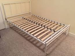 Brusali Bed Frame by Brusali Bed Frame With 4 Storage Boxes White Luröy In Hove