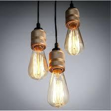 chandeliers sela large modern cluster of bare bulb hanging