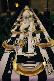 Picture Of Elegant Black And Gold Wedding Ideas 7