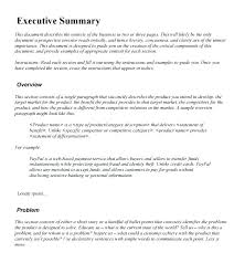 How To Write An Executive Summary For A Resume Elegant General Examples